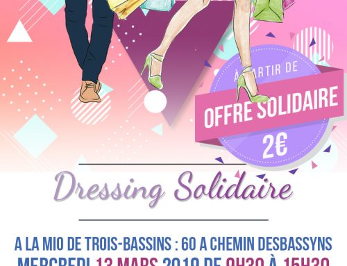 Dressing Solidaire – 13 mars 2019
