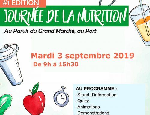 Journée de la nutrition – 03/09/2019 au Parvis Grand Marché au PORT